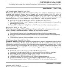 Retail Sales Resume Examples by Furniture Store Manager Resume Resume For Your Job Application