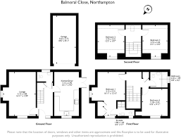 Balmoral Floor Plan 4 Bedroom Detached House For Sale In Balmoral Close Marina