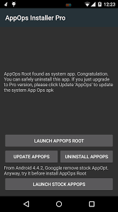 root installer apk app ops pro root android apps on play