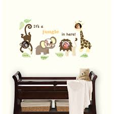 Jungle Nursery Wall Decor Jungle Frames Jonathan Adler Wallpops