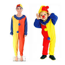 costume new year children boys kids baby clown costumes new year suits