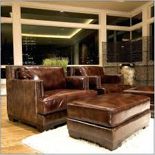 Leather Armchair With Ottoman Ottoman Oversized Leather Chair And Ottoman Full Size Of Sleeper