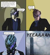 Mass Effect Meme - better as just friends a mass effect 2 and 3 spoilercast the