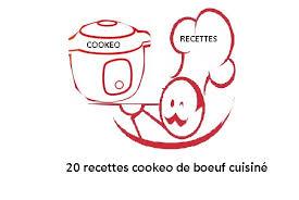 boeuf cuisiné 20 recettes cookeo de boeuf cuisiné le pdf gratuit