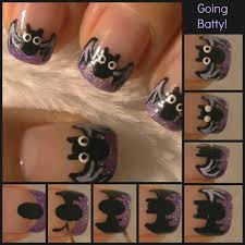 going batty diy nail design pictures photos and images for