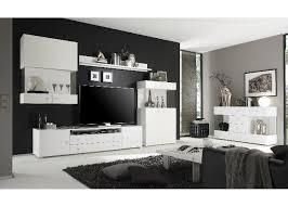 wohnzimmer komplett wohnzimmer komplett set e tinlot weiß walnuss haus