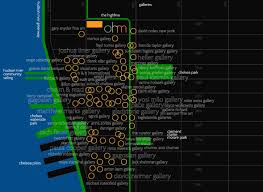 The High Line Map New York City Map West Village And Soho Moon Guides Map Updated