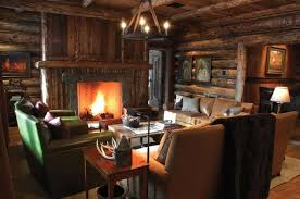 Home Interior Design Usa by Mountain Lodge Rustic Interior Design In Montana Usa Founterior