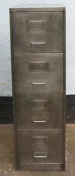 Retro Filing Cabinet Retro Furniture Vintage Retro 4 Drawer Filing Cabinet Polished