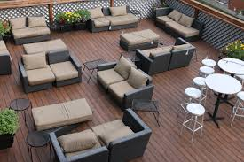 Rooftop Deck Design by Taking A Look At The Thornhill Rooftop Deck Moulin Events