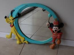 great estate find vintage disney mickey mouse and pluto wall