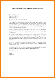 7 birthday invitation letter packaging clerks