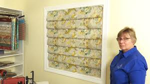 Diy Blackout Roman Shades How To Make A Hobbled Roman Shade Youtube