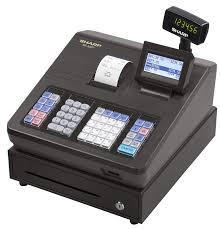amazon com sharp xea207 menu based control system cash register