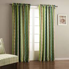 bedroom with green curtain unbelievable curtainsg decoration ideas