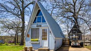amazing beautiful tiny a frame cottage in lampe mo for sale youtube