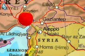 Syria On A Map by The Blessed Mother Is In Syria And Iraq She Will Work Miracles