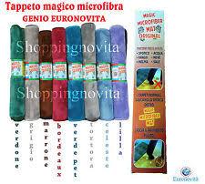 tappeto in microfibra tappeto magico zerbino aladino in vendita ebay