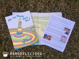 oh the places you ll go graduation gift oh the places you ll go book of memories remodelicious
