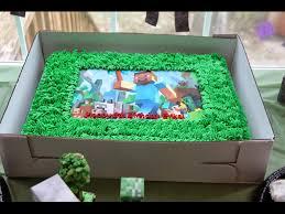 homemade minecraft invitations minecraft birthday cake made by target minecraft birthday party