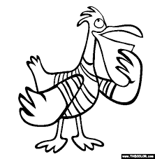 bird coloring pages page 1