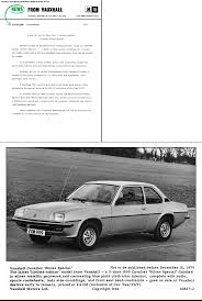 1975 opel manta for sale vauxhall u car cavalier mk1