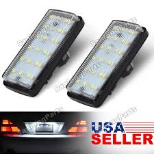 2x 18 smd license plate lights lamps for lexus lx470 toyota land