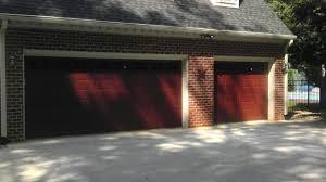2 Door Garage Project 2 Anderson Garage Door Installation U0026 Repair Lynchburg