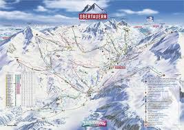 Alps On A Map Obertauern Skigebiet In österreich