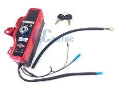 honda gx160 gx200 electric start kit starter motor flywheel switch