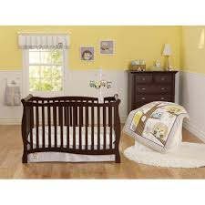 Grey And Yellow Crib Bedding Child Of Mine By S Treetop Friends 3 Crib Bedding Set