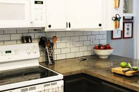 kitchen travertine tile kitchen backsplash tumbled subway glass