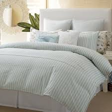 tommy bahama surfside stripe twin duvet cover coastal collection aqua tan new