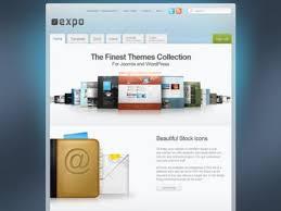 free download expo yootheme joomla template clone site free