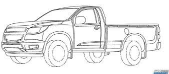 chevy colorado replacement revealed in gm patent filings