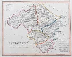 Map Of Wales Antique Maps Of Wales For Sale 17th 19th Century
