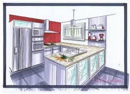 dessiner en perspective une cuisine dessin d une chambre en perspective 14 le de elise fossoux