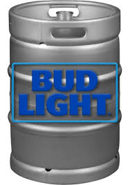 how much is a keg of bud light at walmart bud light 7 75 gallons keg san francisco liquor delivery from room