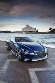 lexus lf lc features lexus lf lc blue concept car in the works pinterest cars