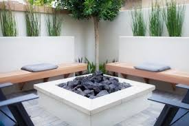 Custom Backyards Bench Custom Concrete Benches Custom Concrete Firepit Benches