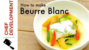 lemon beurre blanc recipe simple lemon beurre blanc chef development youtube