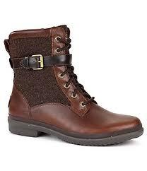 ugg womens boots mid calf ugg s flat mid calf boots dillards