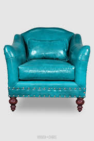 Aqua Leather Chair 26 Best Colored Leather Images On Pinterest Chesterfield Sofas