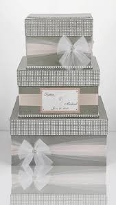 wedding box card box wedding box wedding money box 3 tier personalized