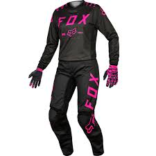 motocross boots kids fox 2017 kids mx new 180 black pink jersey gloves pants girls