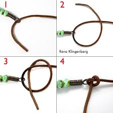 leather necklace string images Rustic leather bead necklace tutorial jewelry making journal jpg