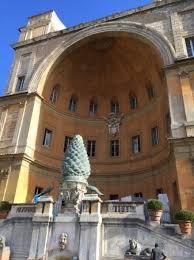 cortile della pigna cortile della pigna foto di musei vaticani citt罌 vaticano