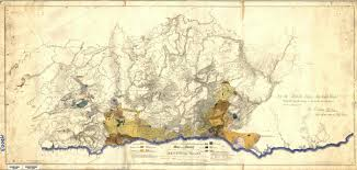 Map Of Wales Map Of The Colony Of New South Wales 1834 By Sir Thomas Mitchell