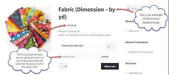 woocommerce measurement price calculator dynamic pricing plugin