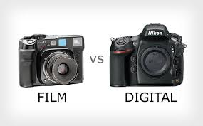 comparing the image quality of film and digital